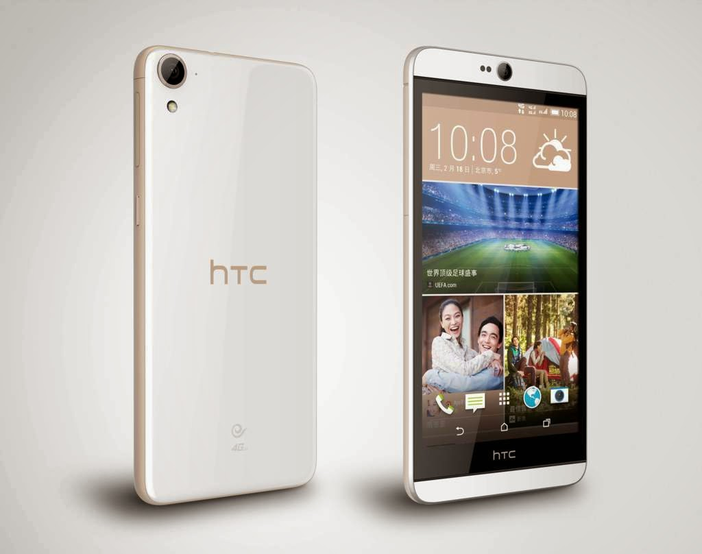 HTC Desire 826, Spesifikasi HP Terbaru Android OS Lollipop Prosesor Octa Core