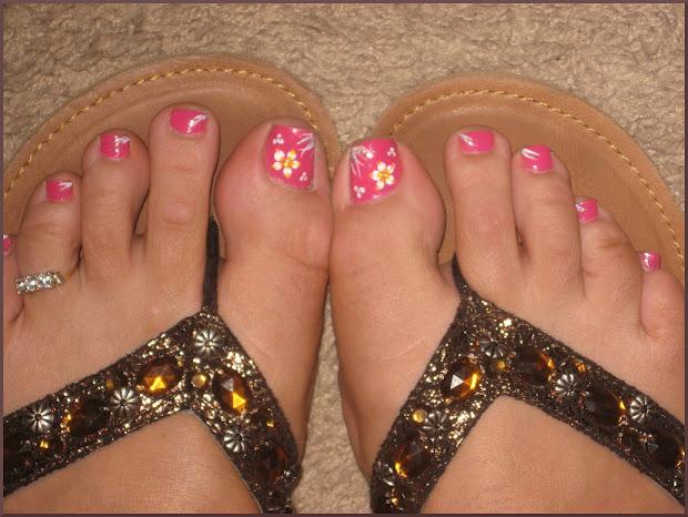 toenail design simple