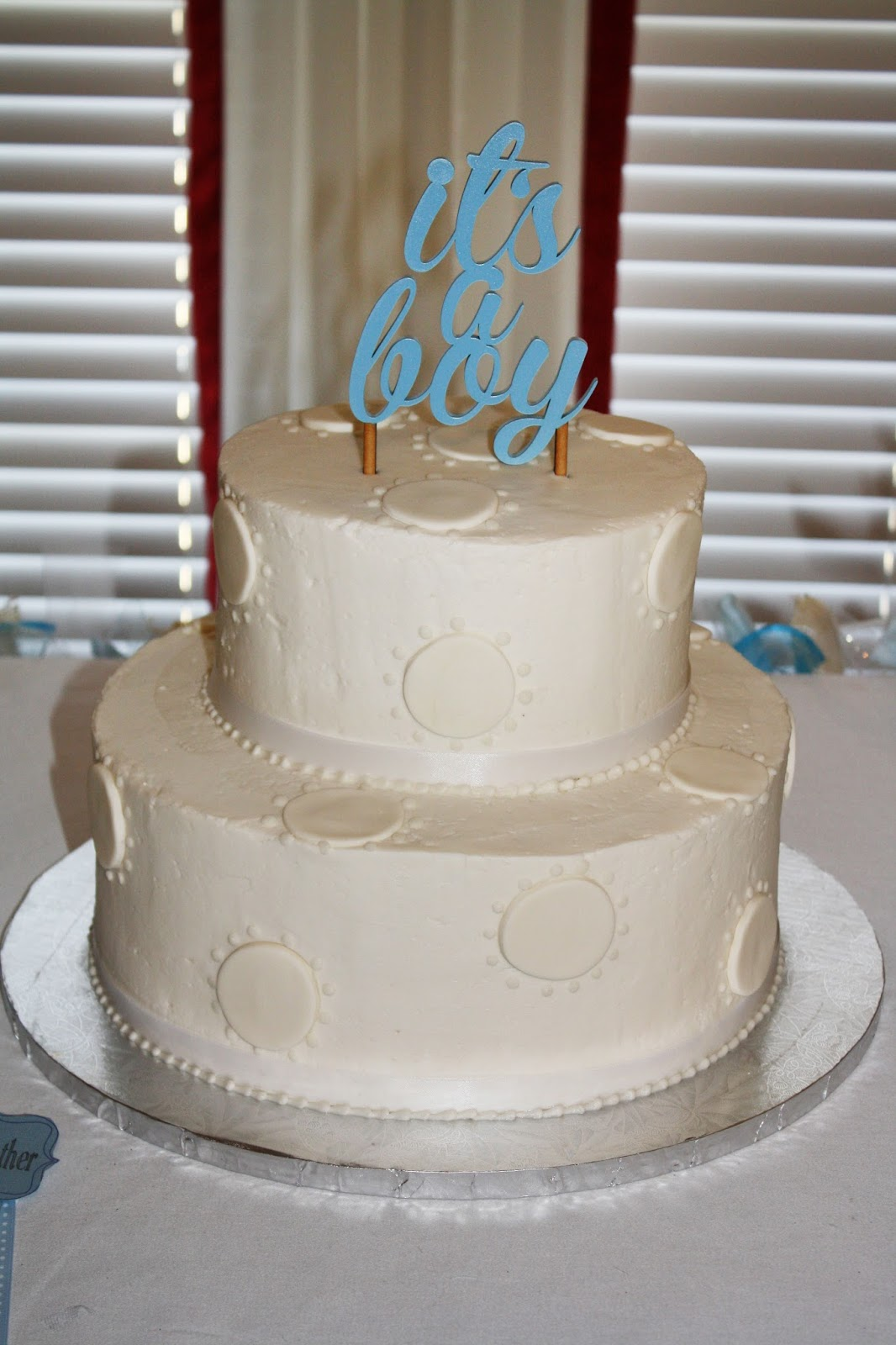 It's a Boy, baby boy, baby shower, cake, baby cake topper