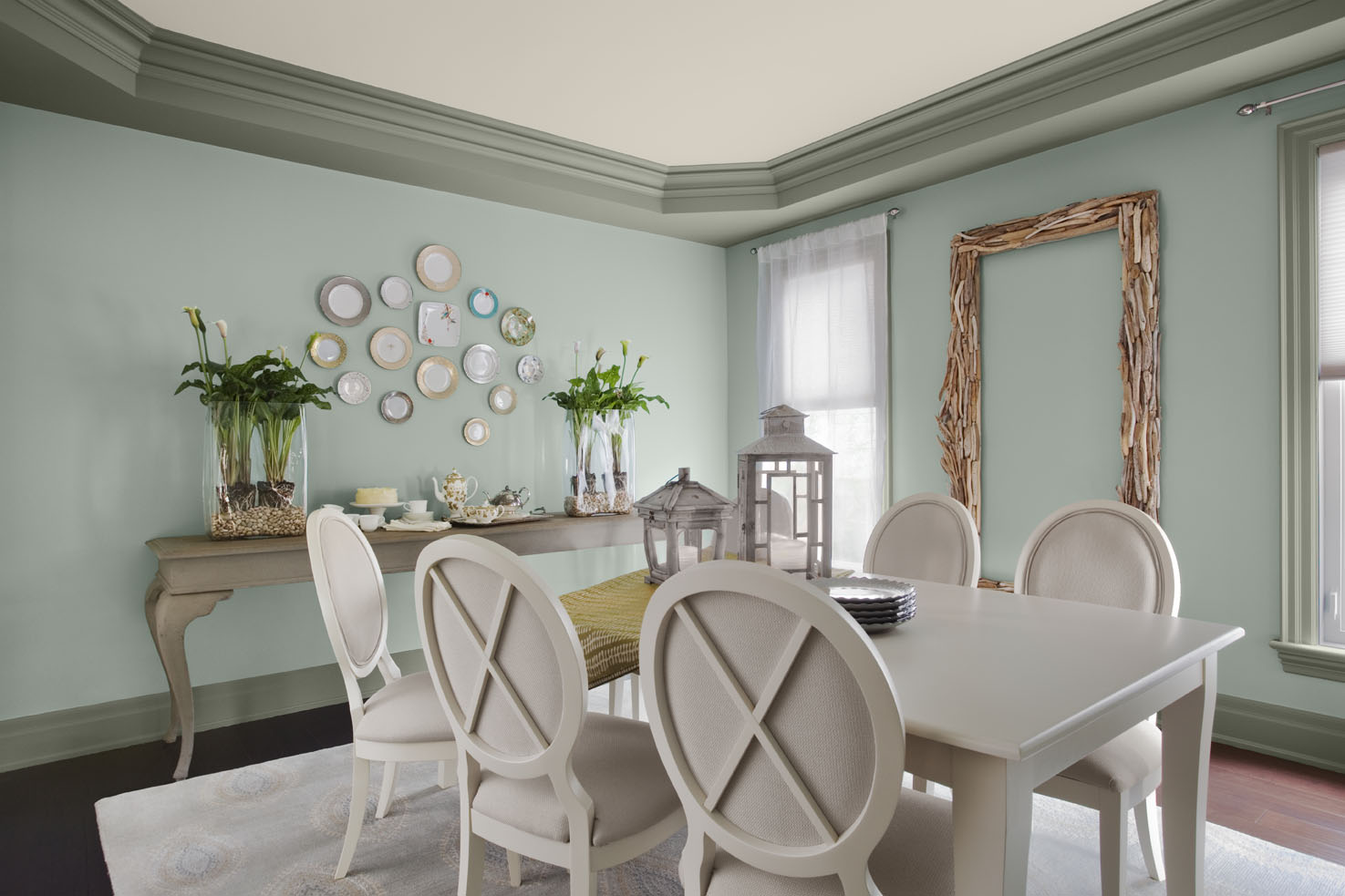 Part Of Paint Colour Trends Series Wythe Blue Setting