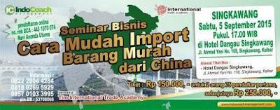 CARA MUDAH IMPORT BARANG MURAH DARI CHINA