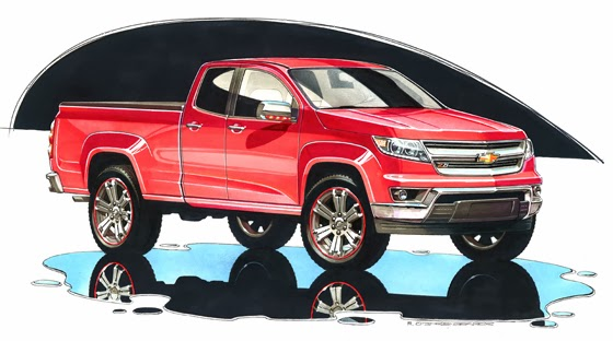 2015 Chevrolet Colorado Debut Coming Soon