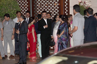 Hira at Mukesh Ambani's Dinner Party for UN Secretary General