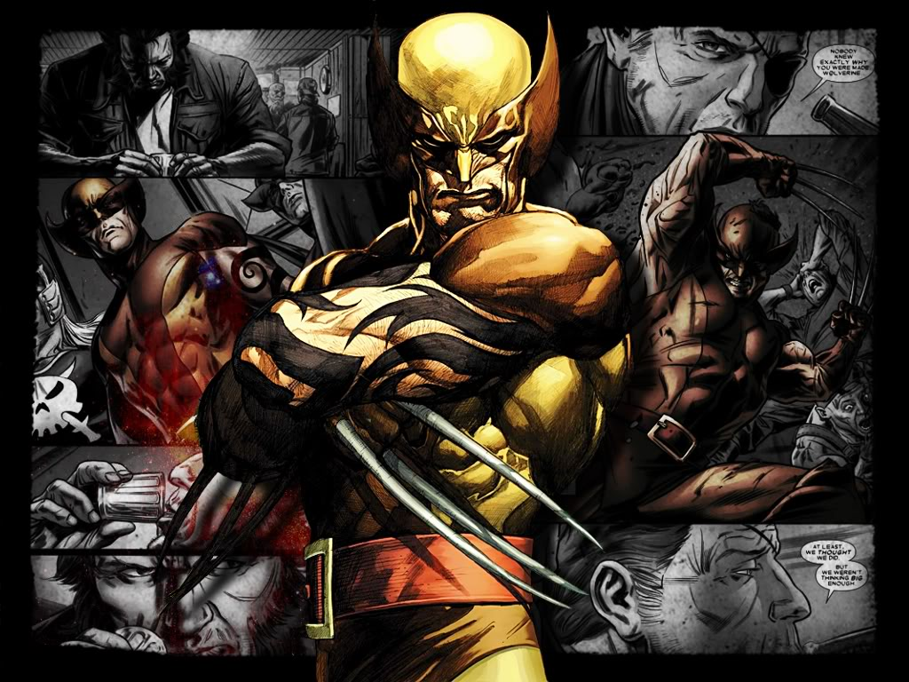 Wolverine Wallpapers - Cartoon Wallpapers