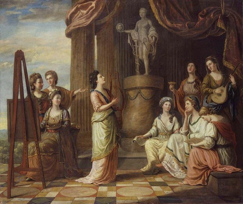 Le Muse e gli artisti