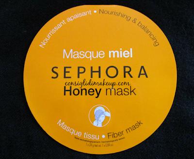 Review: Maschera in Tessuto al Miele - Sephora