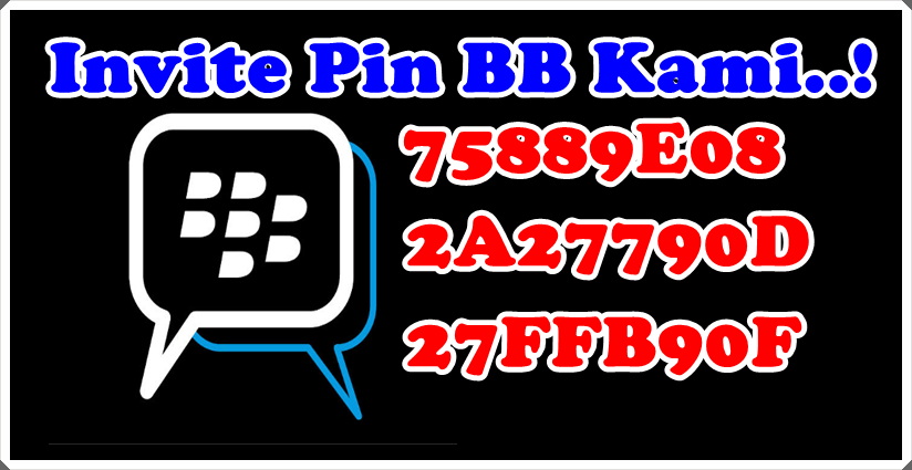 Invite Pin BB Kami..!!