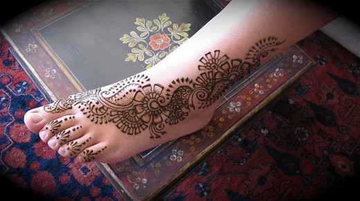 Mehndi Designs Feet N : Mehndi design pakistani feet