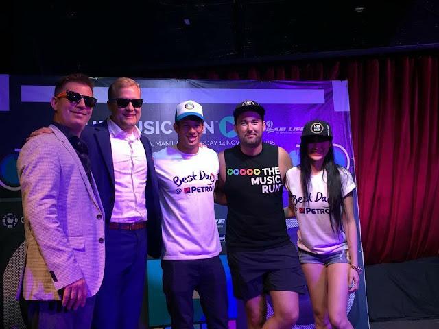 Music Run Manila launch