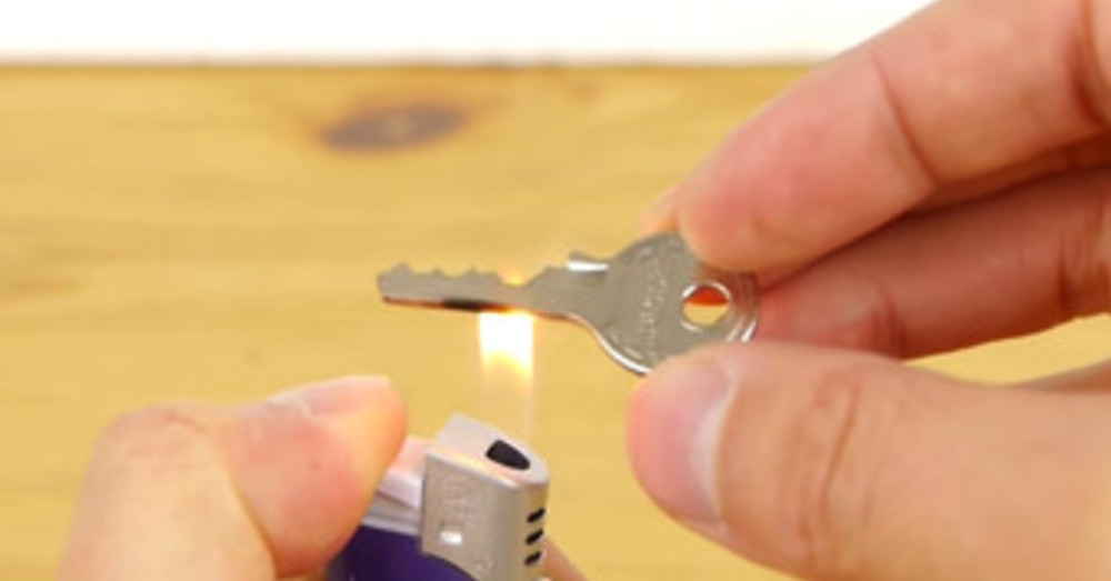 He Holds A Key Under A Flame… His Next Move Might Save Your Life One Day.