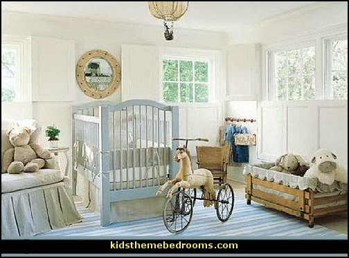 Vintage Baby Boy Nursery Ideas