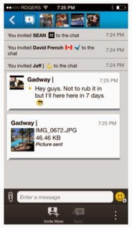 BlackBerry konfirmasikan update BBM berikutnya