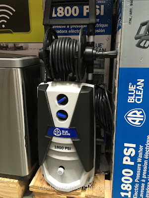 Wash more efficiently with the AR North America Blue Clean Pressure Washer