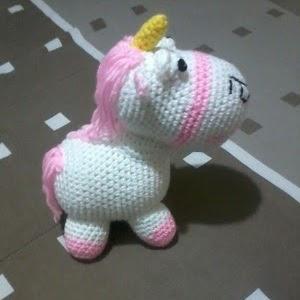 Amigurumi Unicornio Mi Villano Favorito : Patrones Amigurumi: Unicornio (Gru, mi villano favorito)