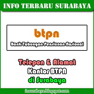 Telepon-Alamat BTPN di Surabaya