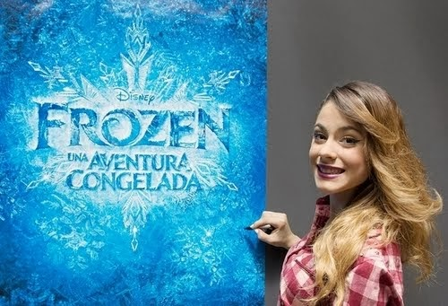 Martina Stoessel voce e musica in Frozen!