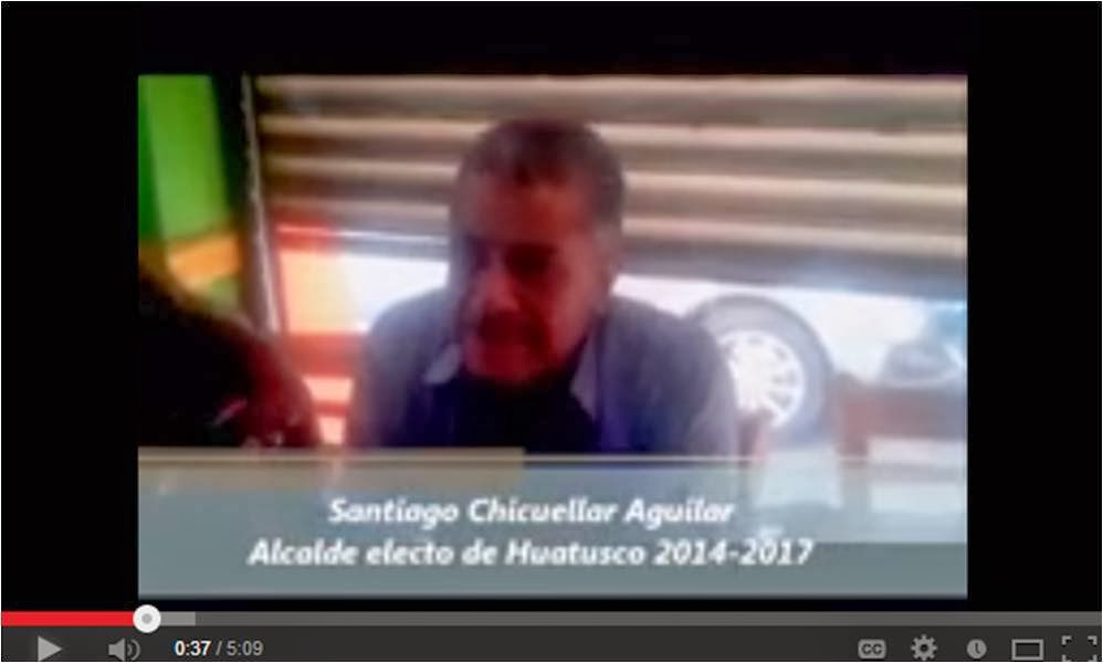 Entrevista con Santiago Chicuellar Aguilar, Alcalde de Huatusco 2014-2017