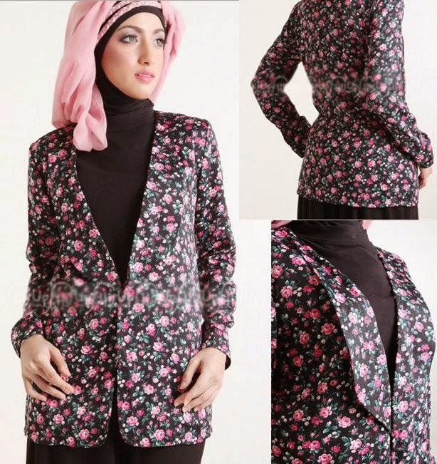 Baju Muslim Blazzer Untuk Remaja