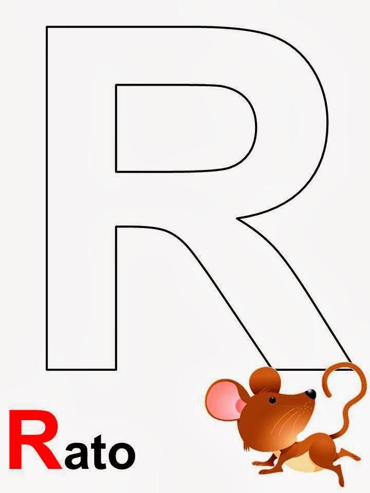 alfabeto rato