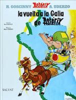 Asterix - La vuelta a la Galia de Asterix,Uderzo, René Goscinny,Salvat  tienda de comics en México distrito federal, venta de comics en México df