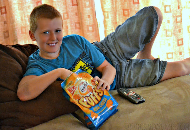 Yummy Summer Snacks - Goldfish Puffs #Shop