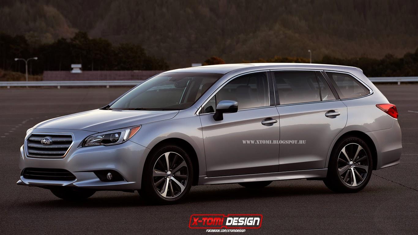 X Tomi Design Subaru Legacy Touring