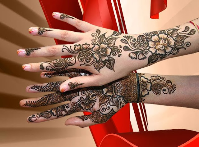 Arabic Mehndi Designs Wallpapers Free Download