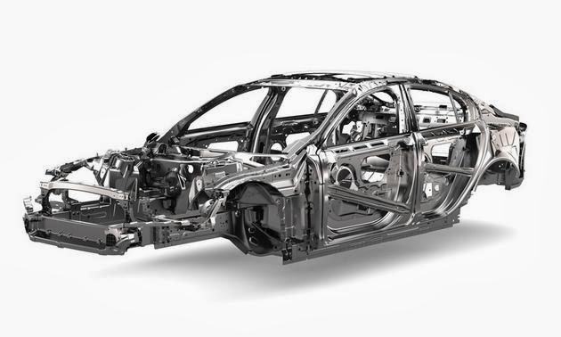 Picture of Jaguar XE frame