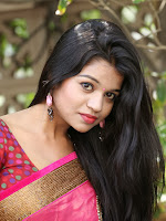 Bhavya Sri Latest Photos in Saree-cover-photo