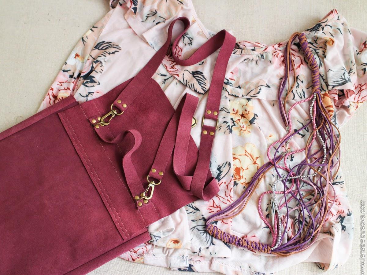 портфель на ремешке