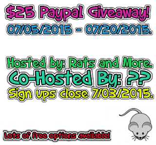 $25 Paypal Blogger Opp. Sign ups close 7/3