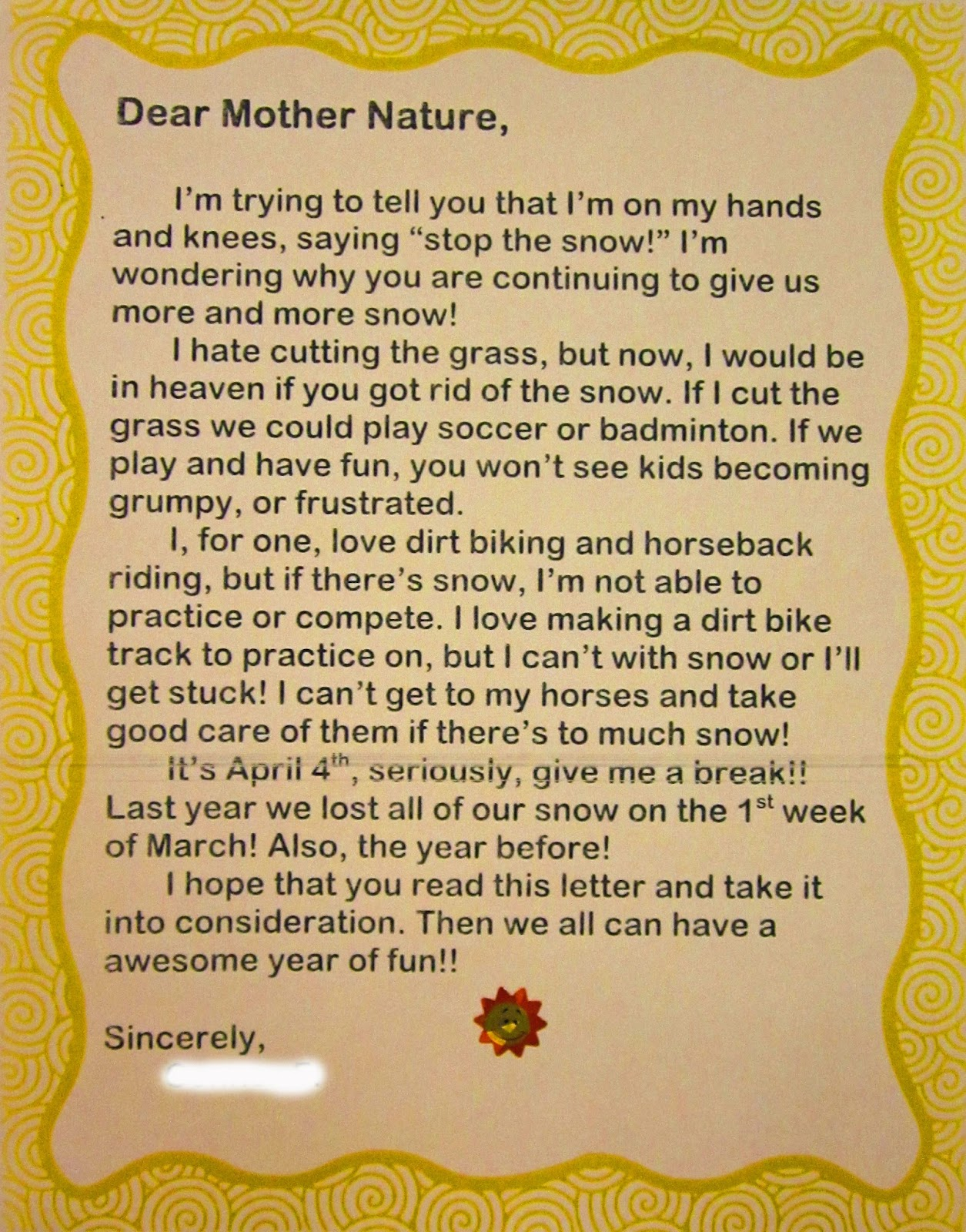 "Dear Birth Parent, Love a Prospective Adoptive Family: Writing Your ""Dear Birthmother Letter"""