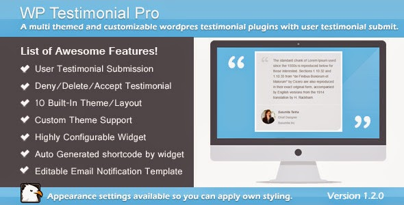 WP Testimonial Pro / Multi Themed WP Plugins