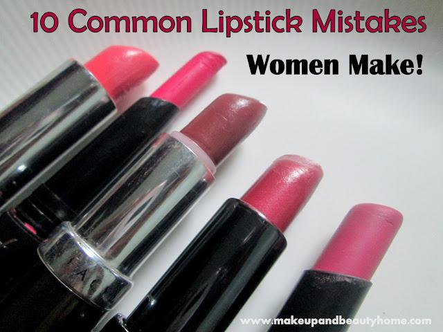 Lipstick Mistakes to Avoid
