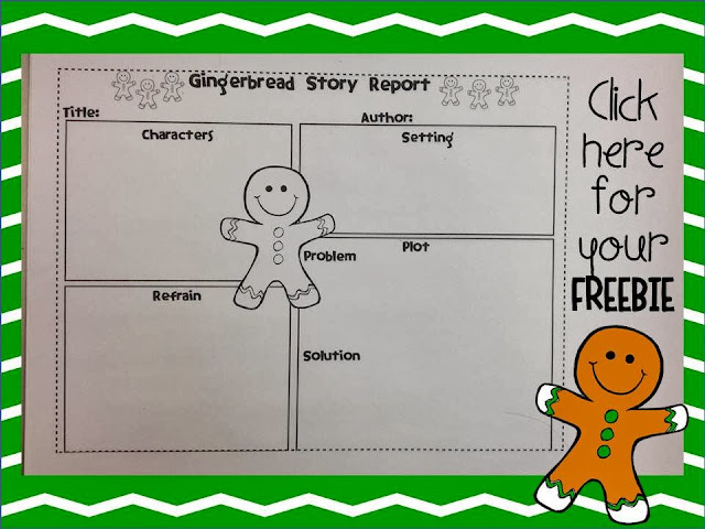 It 39 s all about the gingerbread and story elements in 2nd for Gingerbread man story map template