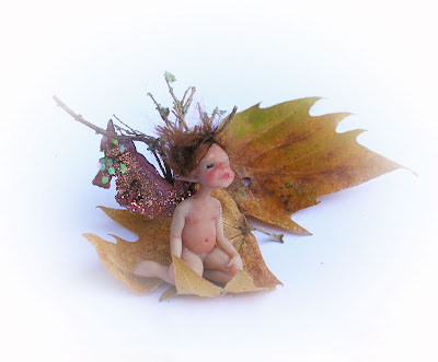 OOAK Miniature Fairy by Celidonia