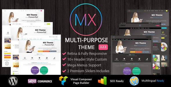mx v3.1.2 - responsive multi-purpose wordpress theme