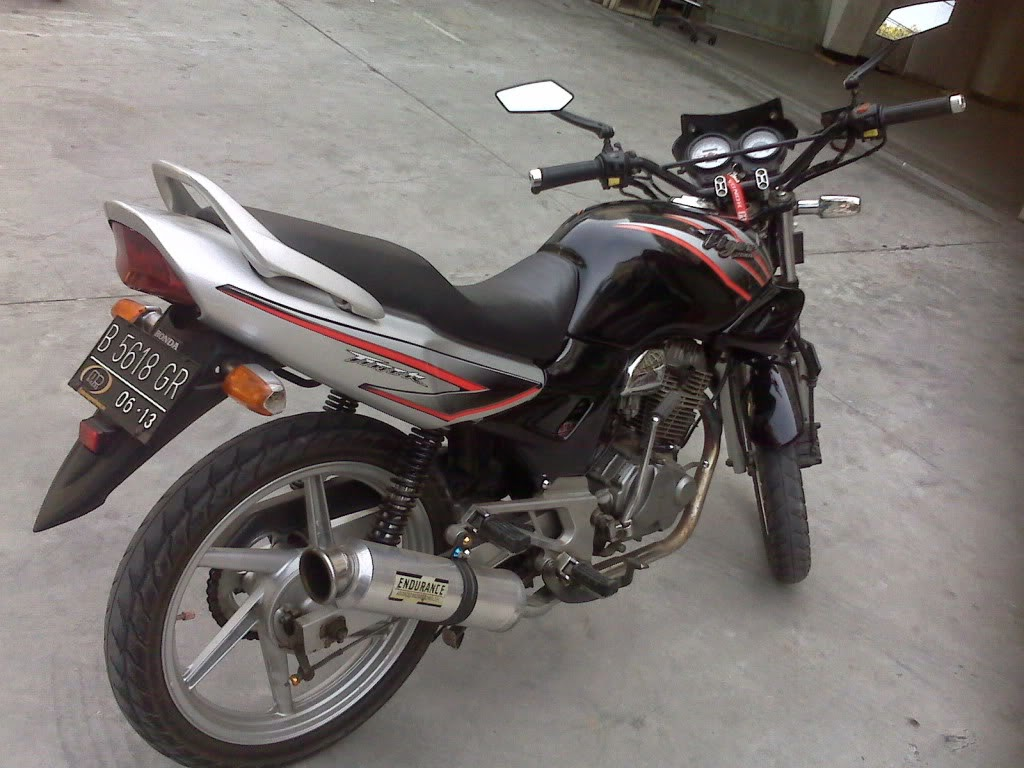 Foto Gambar Modifikasi Motor Tiger 2000 Touring Sukaon