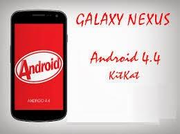 Kitkat 4.4 Galaxy Nexus