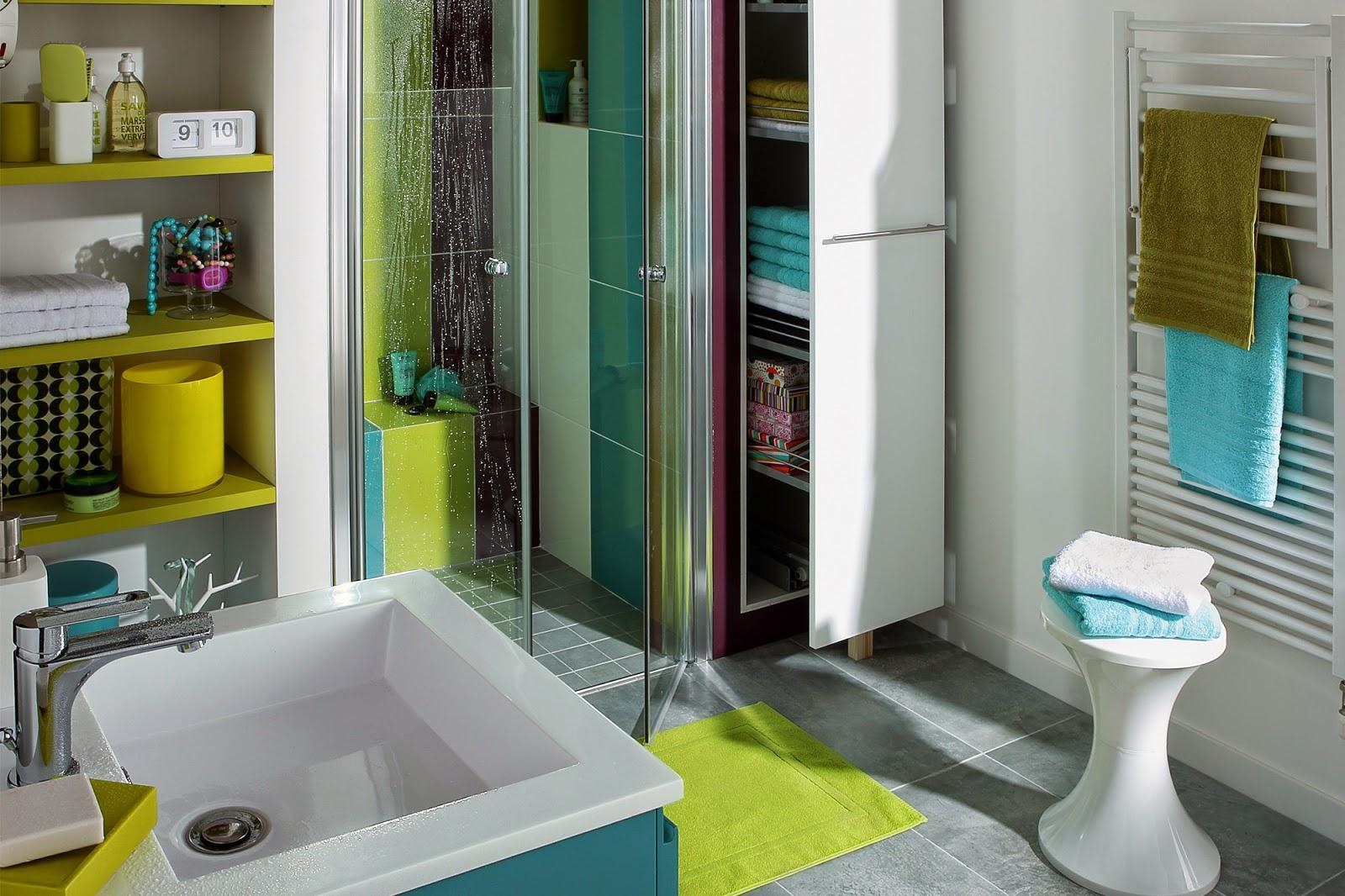 Dê cor à sua casa de banho (AKI) ~ Decoração e Ideias  casa e jardim