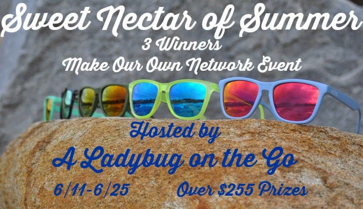 Enter the Sweet Nectar of Summer Giveaway. Ends 6/25.