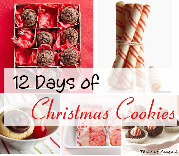 8th Day Of Christmas Chewy Chocolate Peppermint Cookies Recipes ...