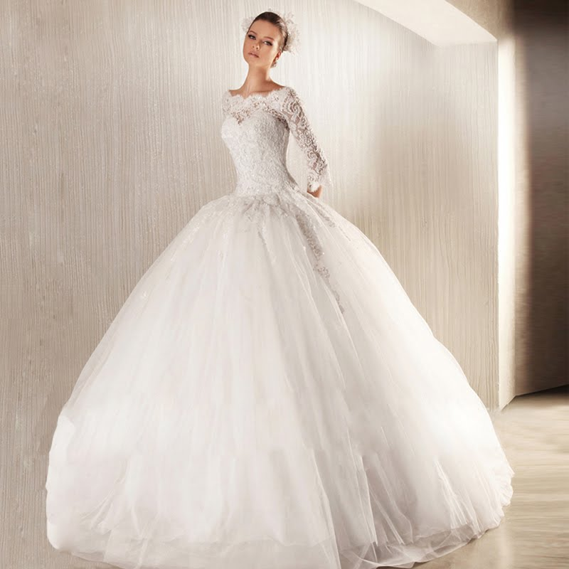 Beautiful ball gown wedding dresses design for Pretty ball gown wedding dresses