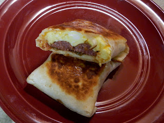 another breakfast burrito.