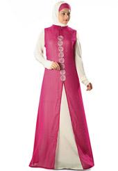 Desain dan model baju gamis ala india masa kini