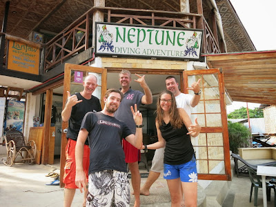 PADI IDC for May 2015 in Moalboal, Philippines is half way