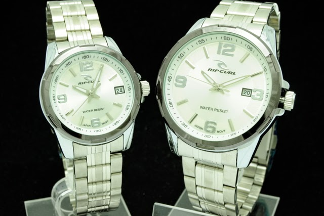 Jam Tangan RipCurl Couple Super KW - Putih