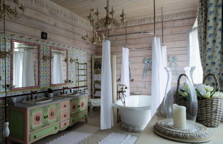 Salles de bain vintage so lovely home for Salle de bain style retro
