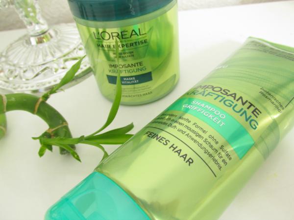 L`Oréal Hair Expertise Imposante Kräftigung Shampoo und Maske Review, Erfahrungen, Testbericht