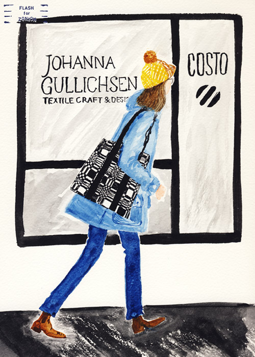 Johanna Gullichsen Textile Bag